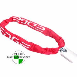 EDGE kædelås RØD i kraftig udførsel 110 cm til at sikre din PUCH Maxi