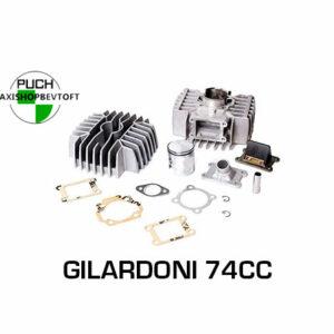Gilardoni 74cc cylindersæt til PUCH Maxi