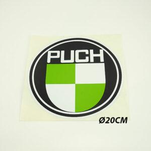 Ø20CM Klistermærke med PUCH logo