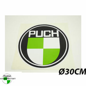 Ø30CM Klistermærke med PUCH logo