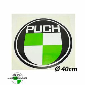 Ø40CM Klistermærke med PUCH logo