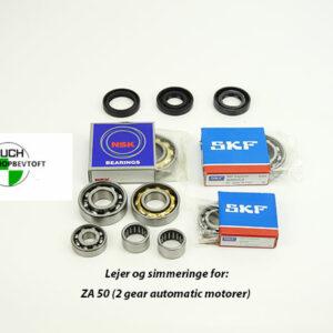 PUCH Maxi ZA50 lejer og simmeringe