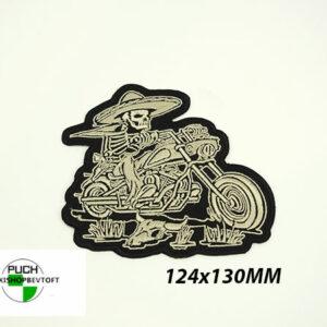 Stofmærke 124x130mm MEXICAN DEVIL