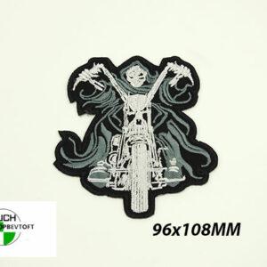Stofmærke 96x108mm POWER DEVIL