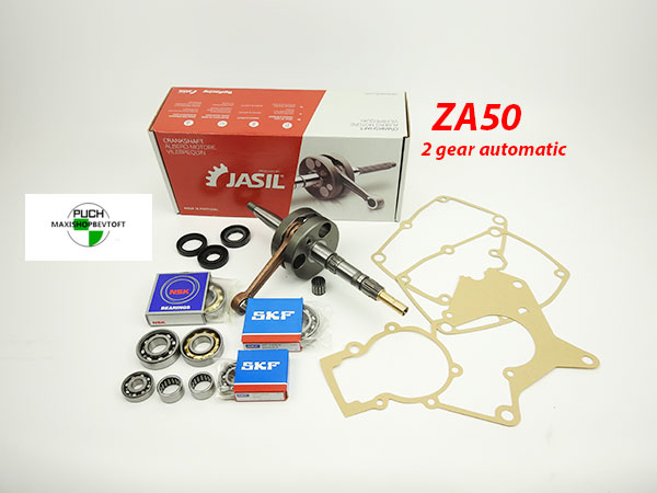ZA 50 Motor rep sæt i bedste kvalitet PUCH Maxi 2 gear Automatic
