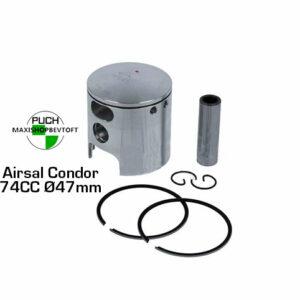 Airsal 47mm stempel til 74cc cylinder