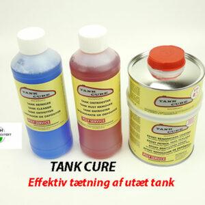 Tank cure 2K til tætning af utætheder i din Benzintank