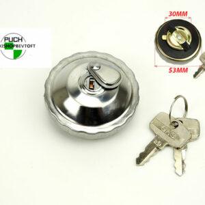 Tankdæksel med lås i KROM udenlandsk PUCH Maxi